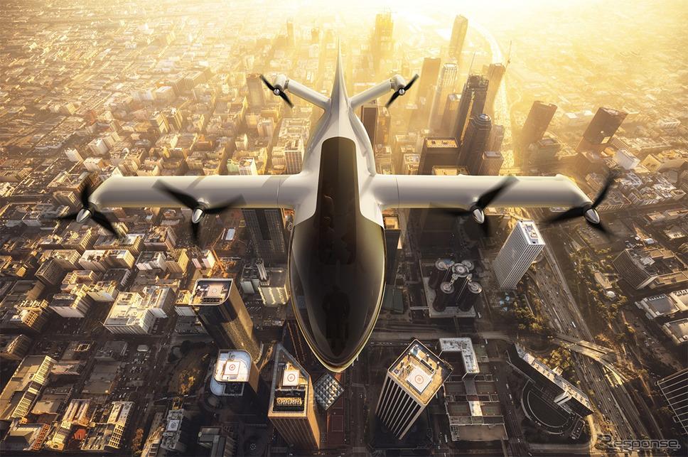 電動航空機(イメージ)《写真提供 デンソー》