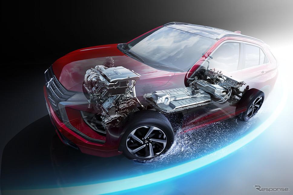 新型エクリプス クロス(PHEVモデル)システムイメージ《写真提供 三菱自動車》