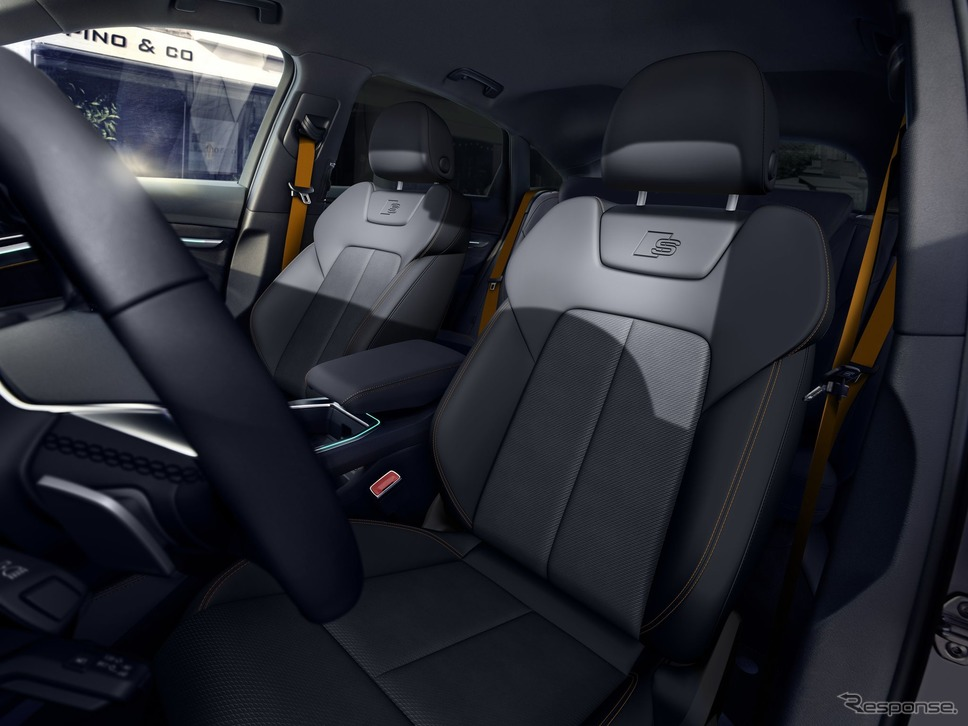 アウディ e-tron スポーツバック の2022年モデルの「Sラインブラックエディション」《photo by Audi》