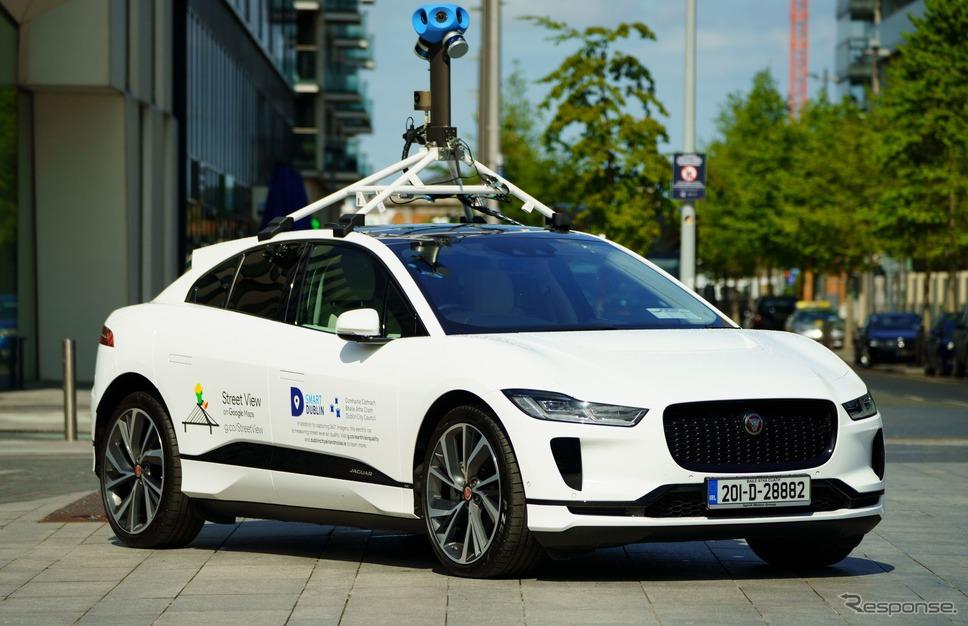 ジャガー I-PACE の「Google ストリートビュー」撮影車両《photo by Jaguar Land Rover》