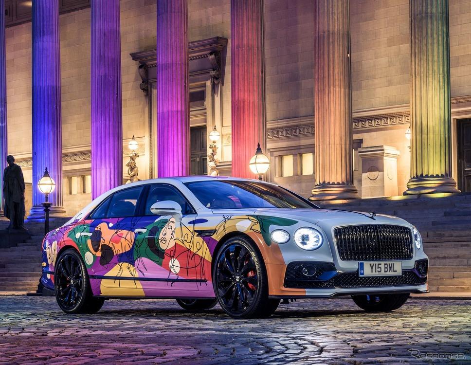 ベントレー・フライングスパー 新型のアートカー「ユニファイング・スパー」《Photo by BENTLEY》