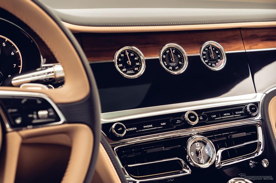 ベントレー・フライングスパー新型《photo by Bentley》