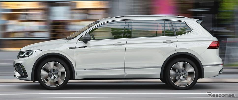 フォルクスワーゲン・ティグアン・オールスペース 改良新型《photo by VW》