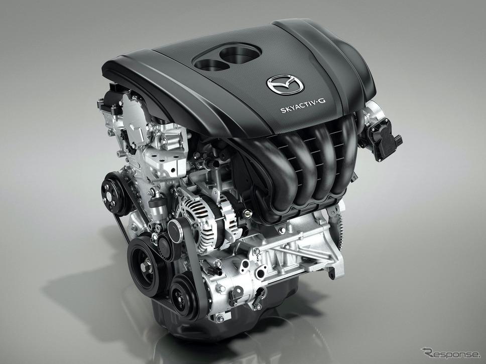 マツダSKYACTIV-Gガソリンエンジン(CX-30)《写真提供 マツダ》