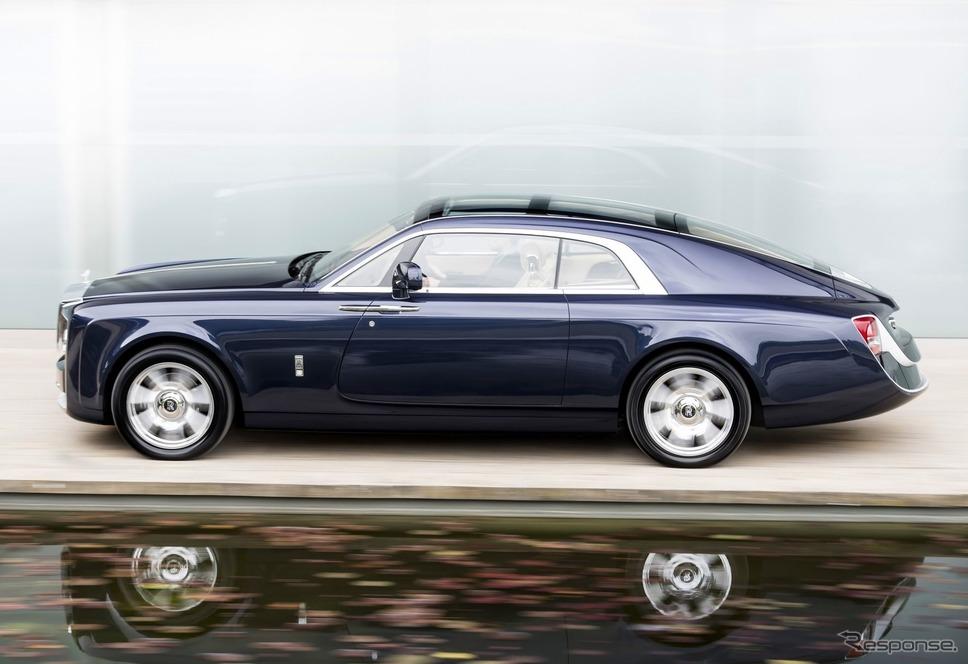 ロールスロイス・スウェプテイル(2017年)《photo by Rolls-Royce》