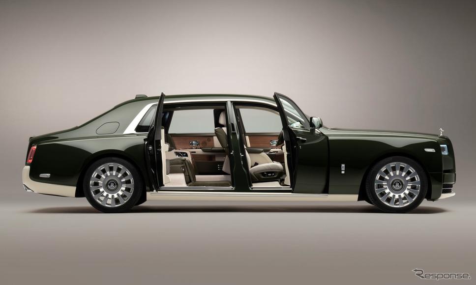 ロールスロイスのワンオフ:ファントム・オリベ(2021年)《photo by Rolls-Royce》