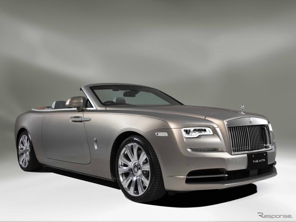 """ロールスロイスのワンオフ:ドーン""""ザ・キタ""""(2021年)《photo by Rolls-Royce》"""