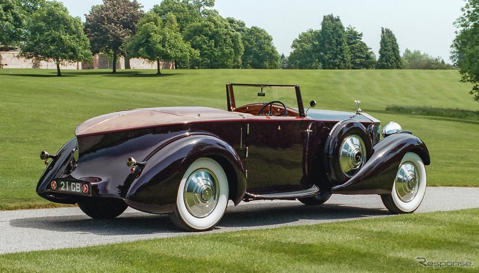 ロールスロイスのコーチビルドの歴史:ロールスロイス・ファントム II コンチネンタル・ドロップヘッドクーペ(1934年)《photo by Rolls-Royce》