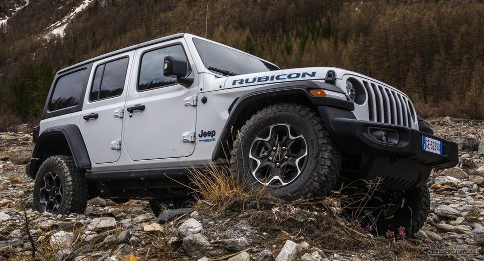 ジープ・ラングラー「4xe」《photo by Jeep》