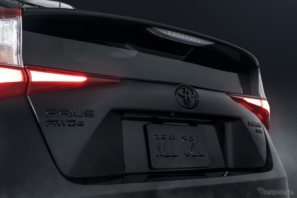 トヨタ・プリウス・ナイトシェード・エディション(米国仕様)《photo by Toyota》