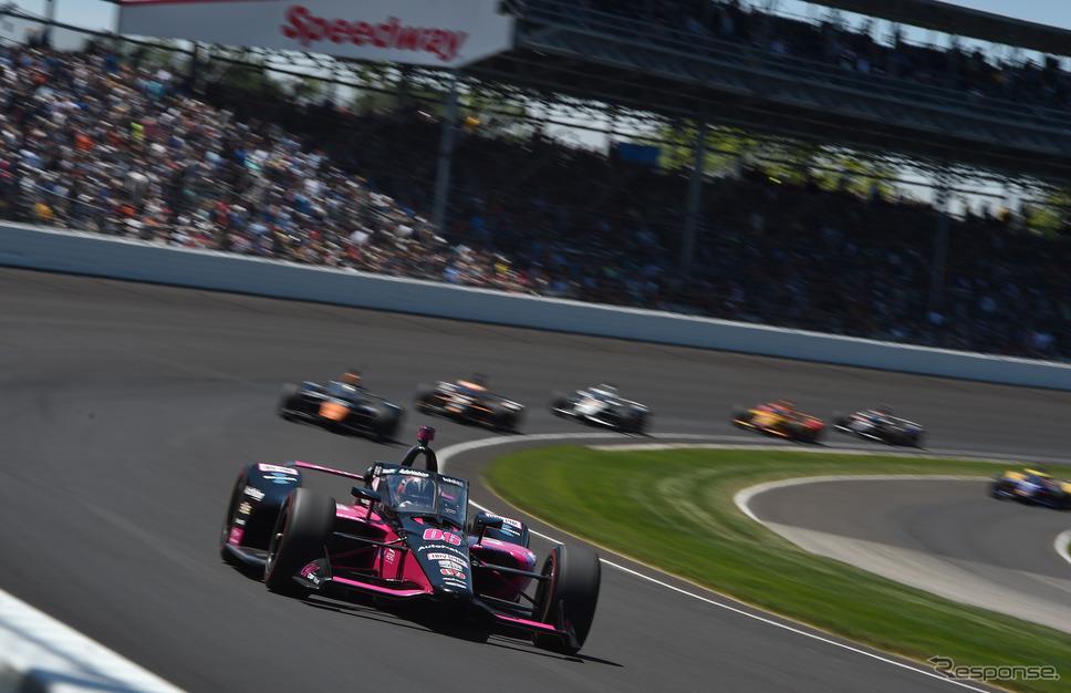 #06 カストロネベスは今回のインディ500が今季インディカー・シリーズにおける初出走だった。《Photo by INDYCAR》
