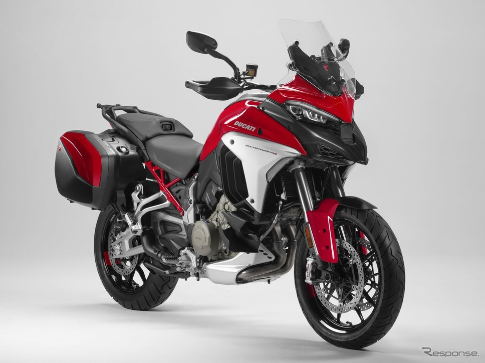 ドゥカティ・ムルティストラーダ V4 新型《photo by Ducati》