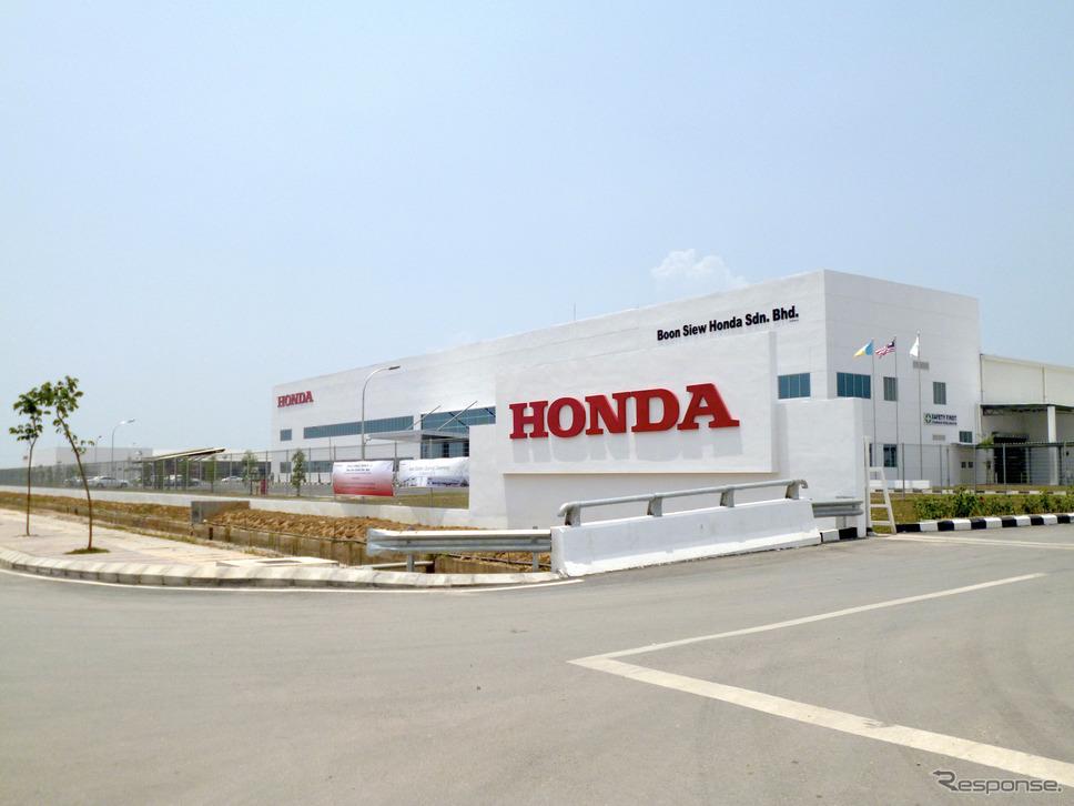 ホンダ二輪マレーシア工場《写真提供 ホンダ》