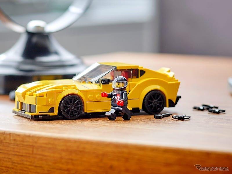 レゴ スピードチャンピオンズ トヨタ GRスープラ(76901) (c) 2021 The LEGO Group.《写真提供 LEGO》