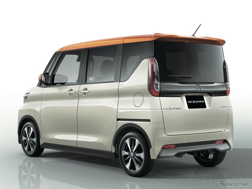 三菱eKクロススペース(2020年)《写真提供 三菱自動車》
