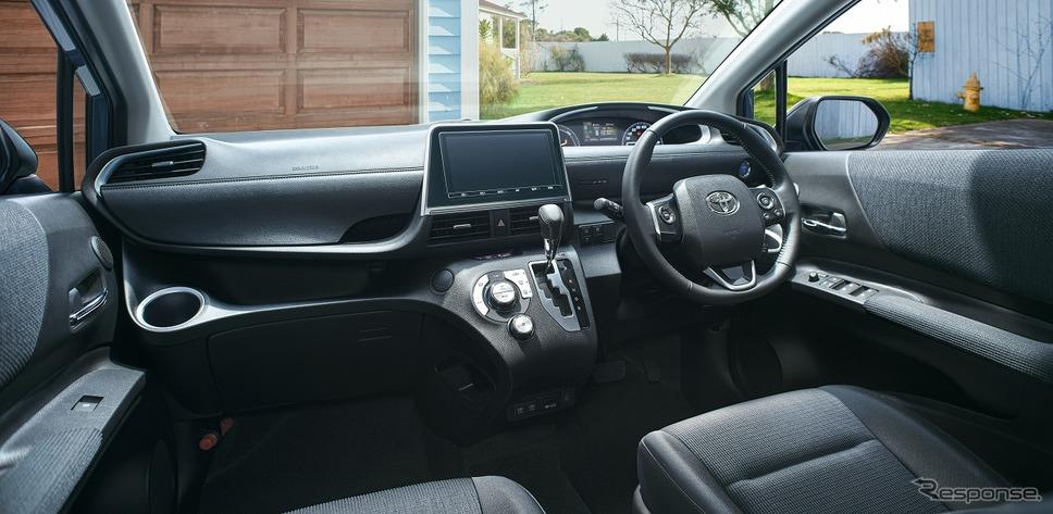 ブラックインテリア(インストルメントパネル&アッパーボックス)《写真提供 トヨタ自動車》