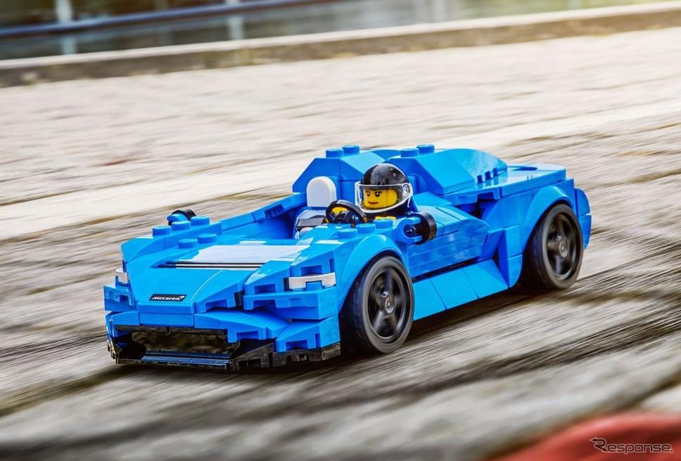 マクラーレン・エルバの「レゴ・スピードチャンピオン」《photo by McLaren Automotive》