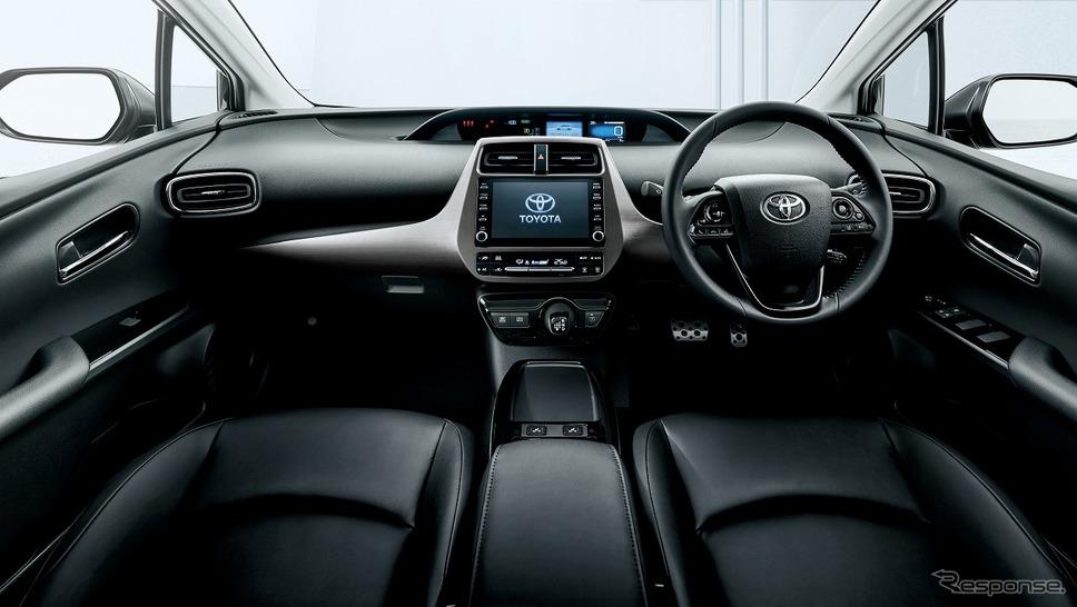 トヨタ プリウス S ツーリングセレクション ブラックエディション(内装色:ブラック)《写真提供 トヨタ自動車》