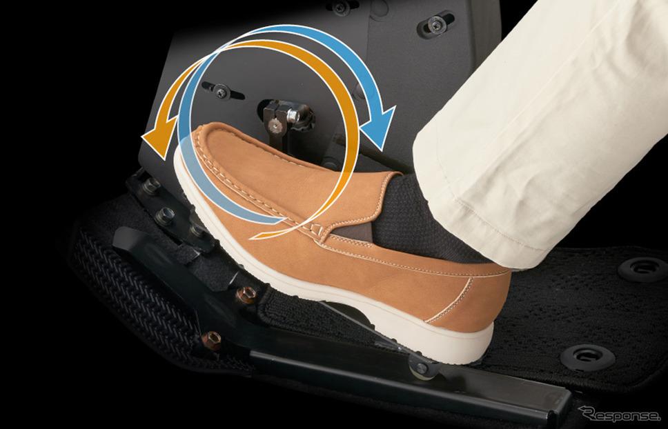 足用ステアリングペダルユニット操作イメージ《写真提供 ホンダアクセス》