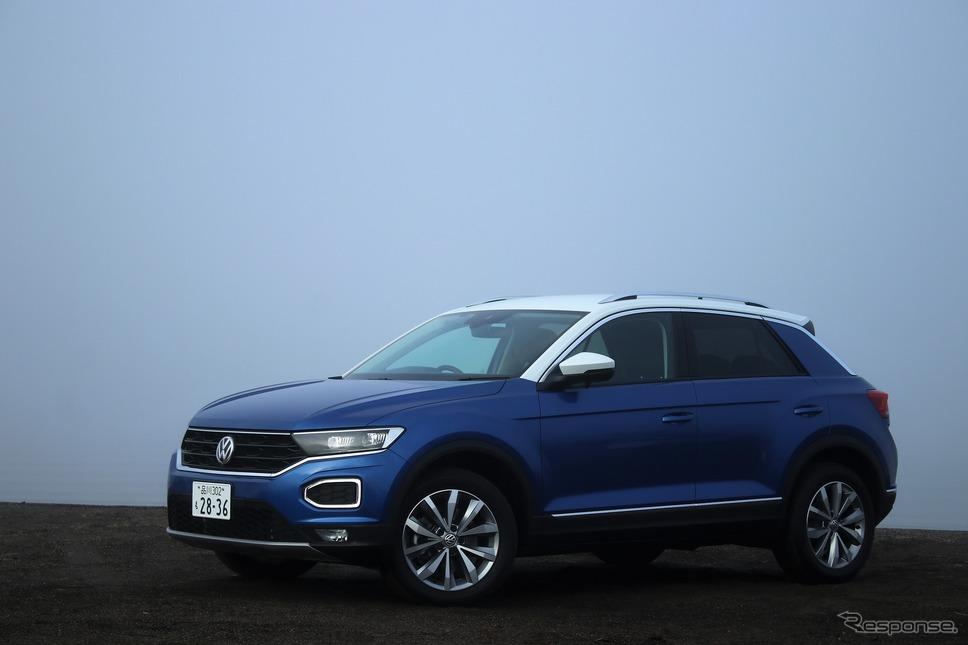 VW T-Roc《写真撮影  内田俊一》