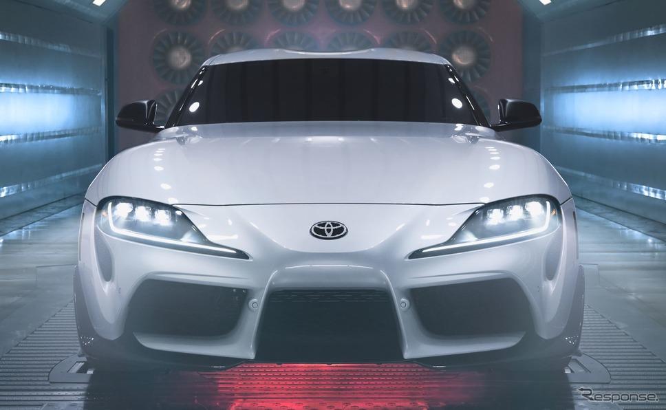 トヨタ GR スープラ「A91-CFエディション」(北米仕様)《photo by Toyota》