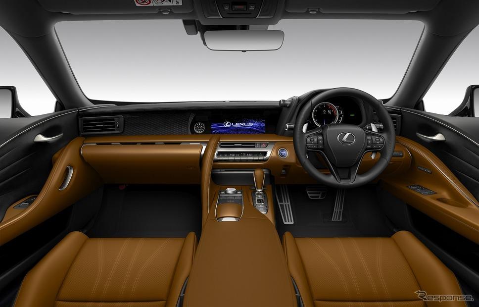 レクサス LC500h HIDEKI MATSUYAMA EDITION(インテリアカラー:ブラック&オーカー)《写真提供 トヨタ自動車》