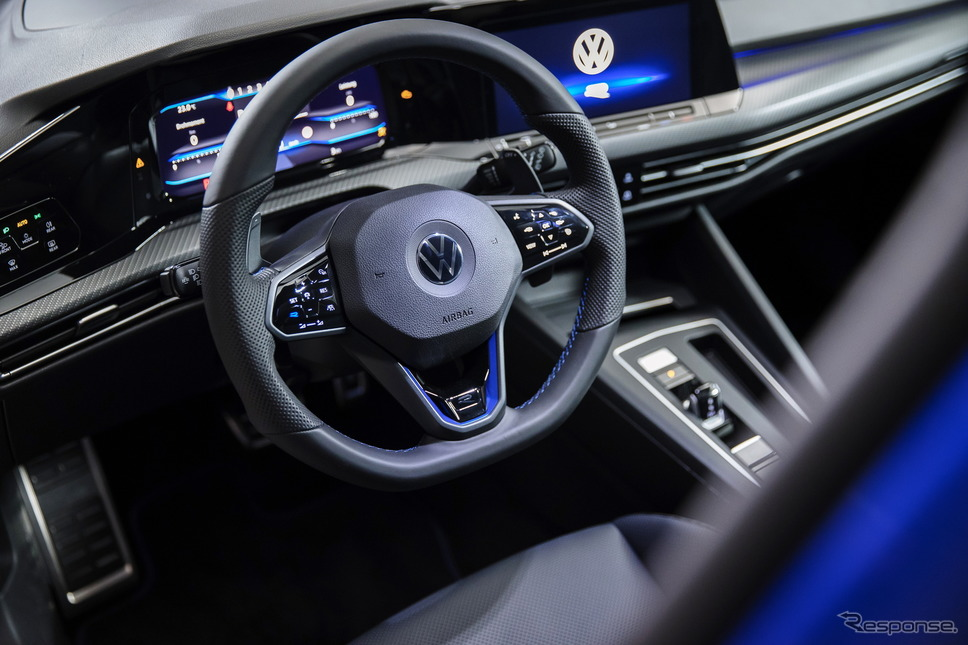 フォルクスワーゲン・ゴルフR新型《photo by VW》