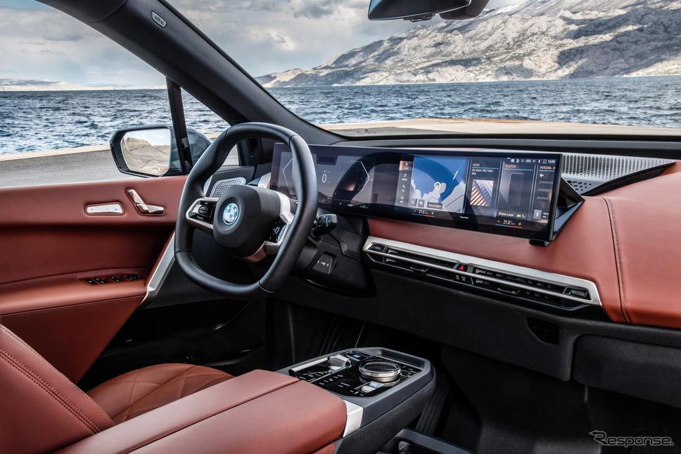 BMW iX の「xDrive50」《photo by BMW》