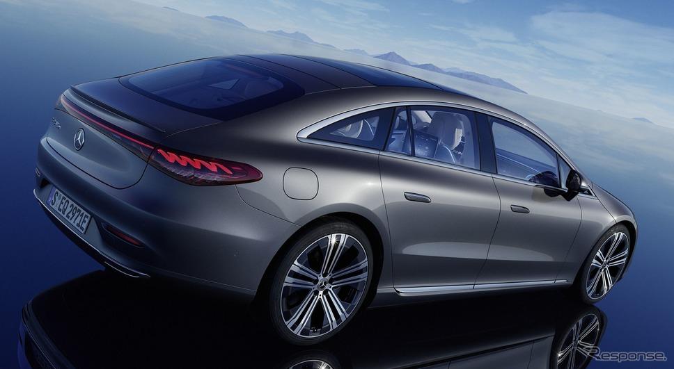 メルセデスベンツ EQS《photo by Mercedes-Benz》