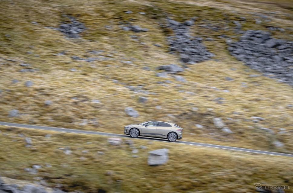 ジャガー I-PACEのエベレスティング《photo by Jaguar》