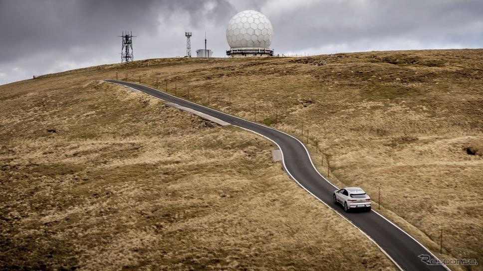 山頂にはレーダーサイトがある。《photo by Jaguar》