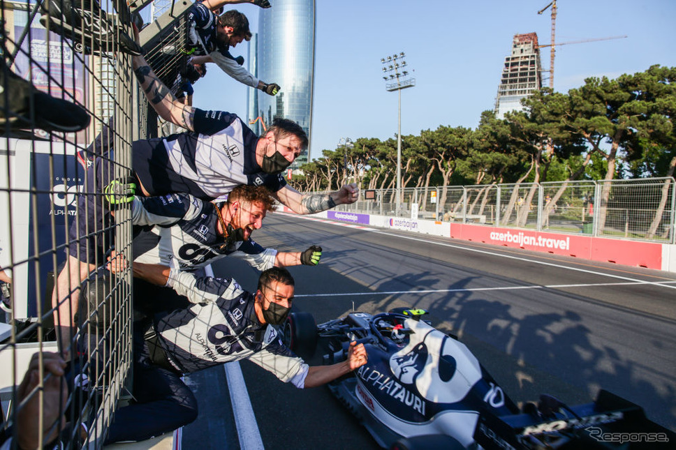 F1アゼルバイジャンGP《Photo by Peter Fox/Getty Images Sport/ゲッティイメージズ》