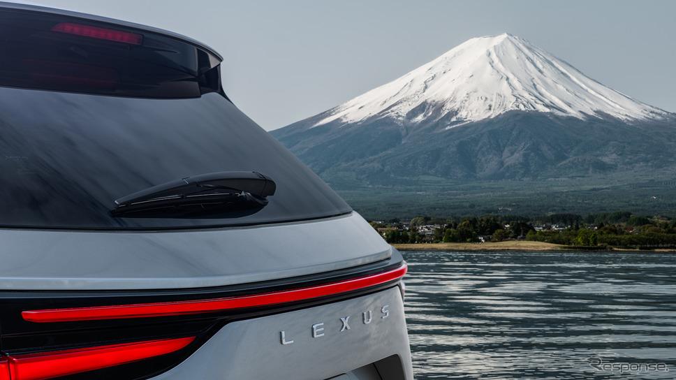 レクサス NX 新型のティザーイメージ《photo by Lexus》