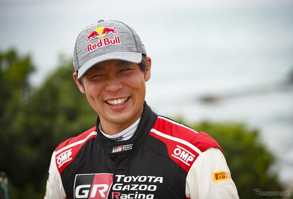 勝田貴元(トヨタ)はWRCドライバー部門の年間ランキングで5位に浮上した。《Photo by TOYOTA》