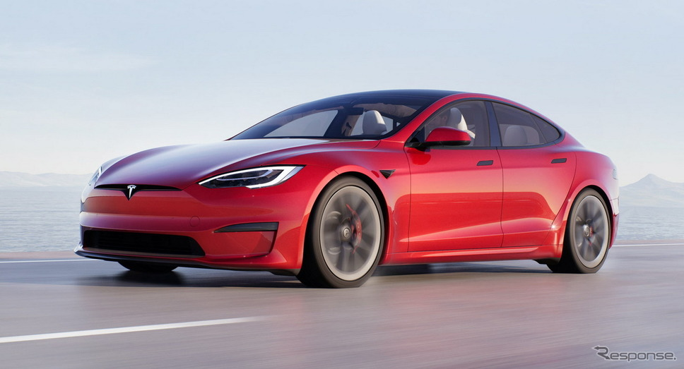 テスラ・モデルS 改良新型《photo by Tesla》