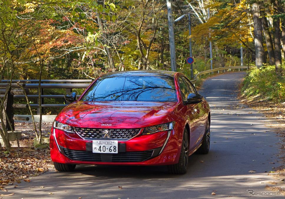 プジョー 508 GT BlueHDi《写真撮影 井元康一郎》