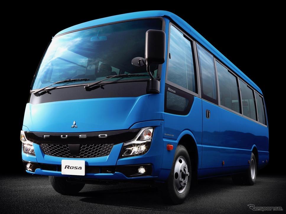 三菱ふそう ローザ《写真提供 三菱ふそうトラック・バス》