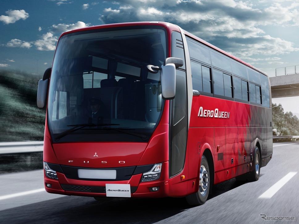 三菱ふそう エアロクィーン《写真提供 三菱ふそうトラック・バス》