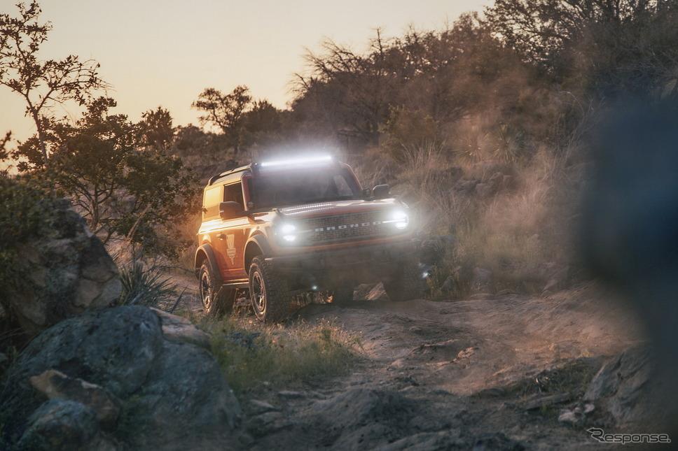 フォードモーターのフォード・ブロンコ 新型《photo by Ford Motor》
