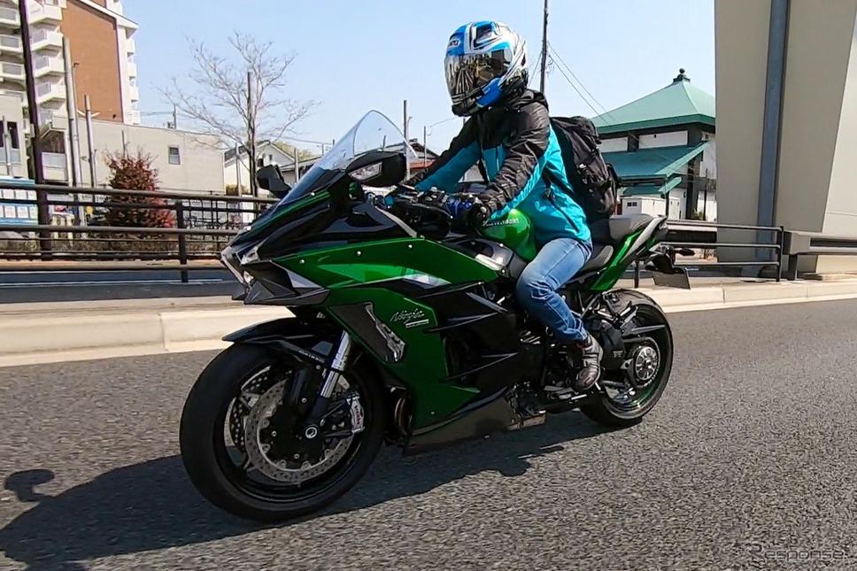 カワサキ Ninja H2 SX SE+《写真撮影 WITH ME》