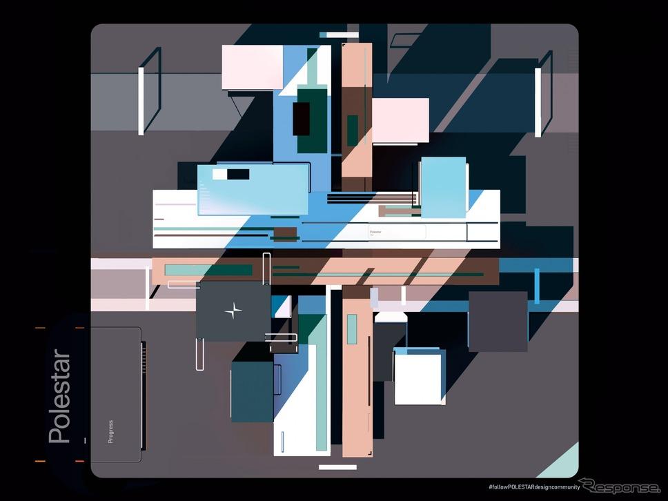 ポールスターの「2021年グローバルデザインコンテスト」のイメージ《photo by Polestar》