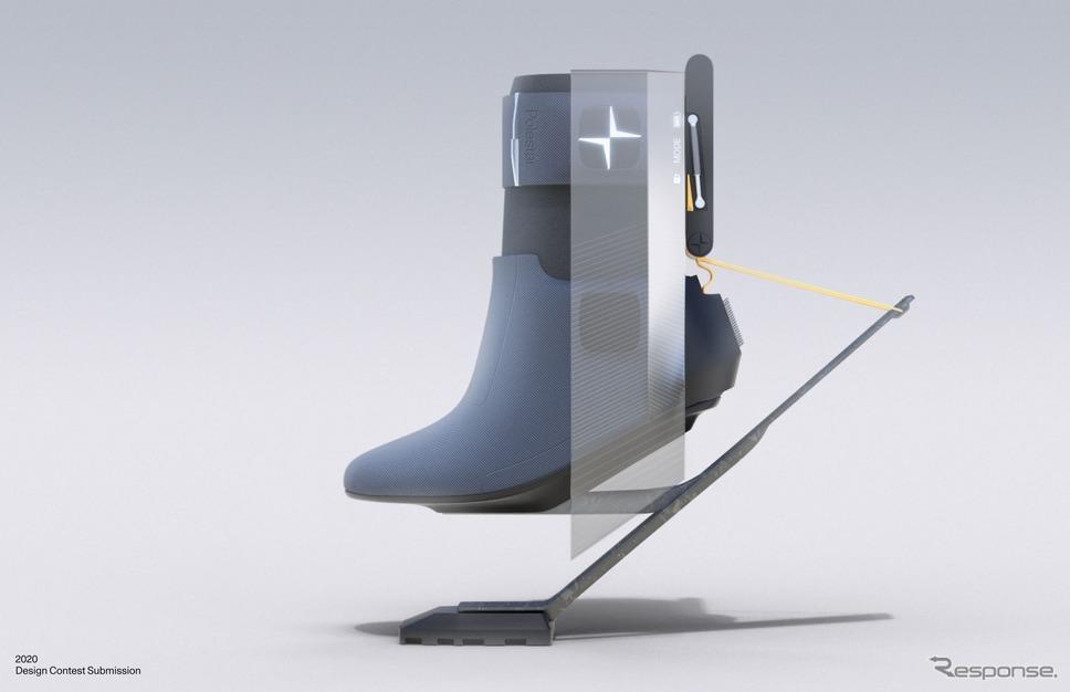 ポールスターの「2020年グローバルデザインコンテスト」(前回)の作品《photo by Polestar》