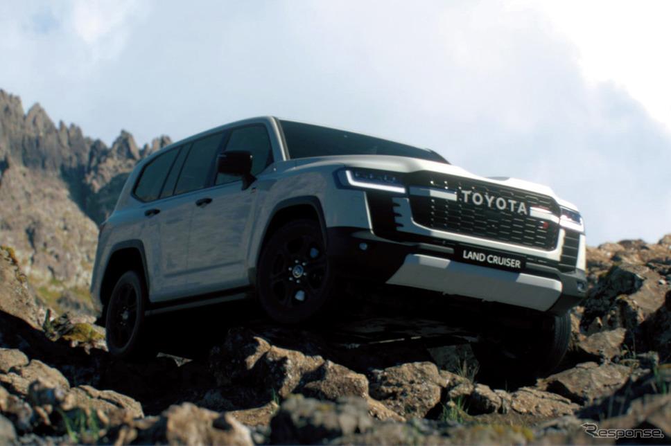 トヨタ ランドクルーザー 新型の海外仕様《写真提供 トヨタ自動車》