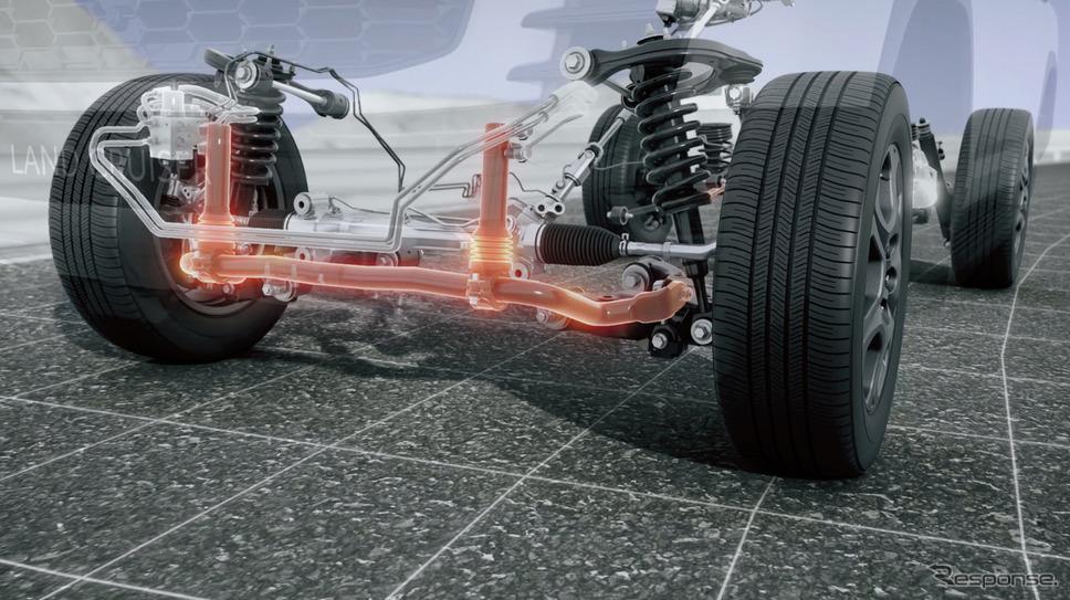 トヨタ ランドクルーザー 新型のE-KDSS《写真提供 トヨタ自動車》
