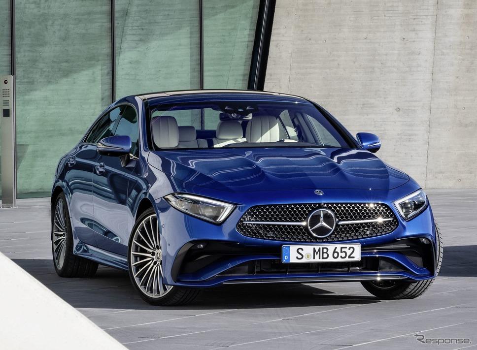 メルセデスベンツ CLS クーペ 改良新型《photo by Mercedes-Benz》