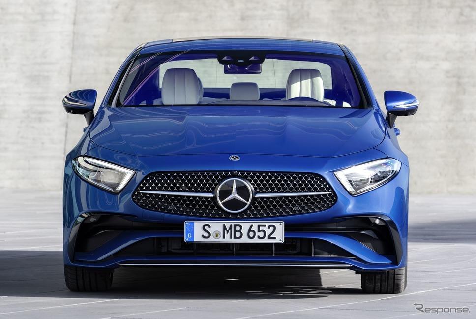 メルセデスベンツ CLSクーペ  改良新型《photo by Mercedes-Benz》