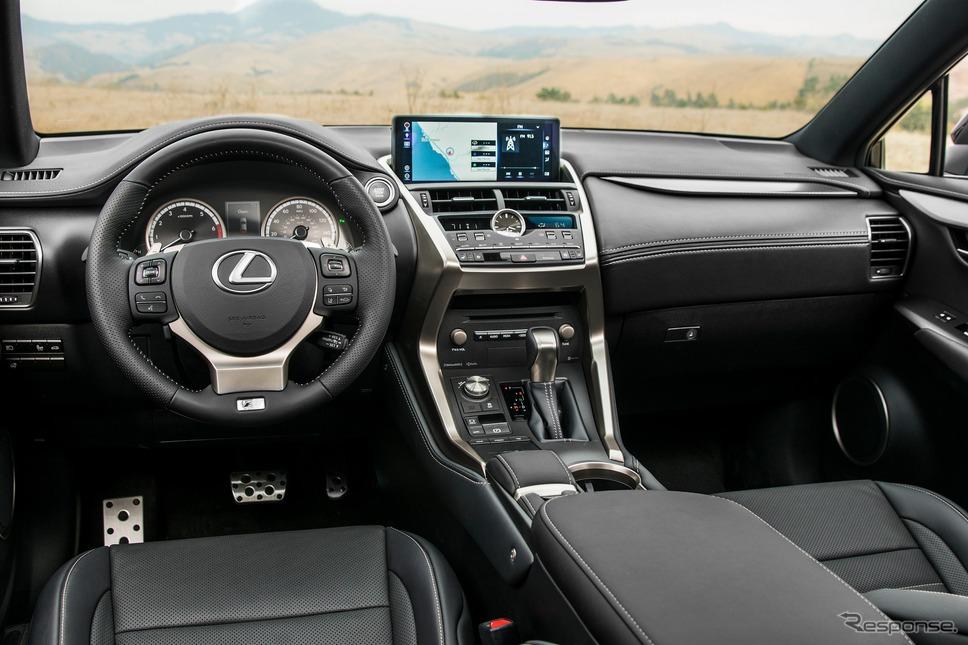 レクサス NX 現行型(米国仕様)《photo by Lexus》