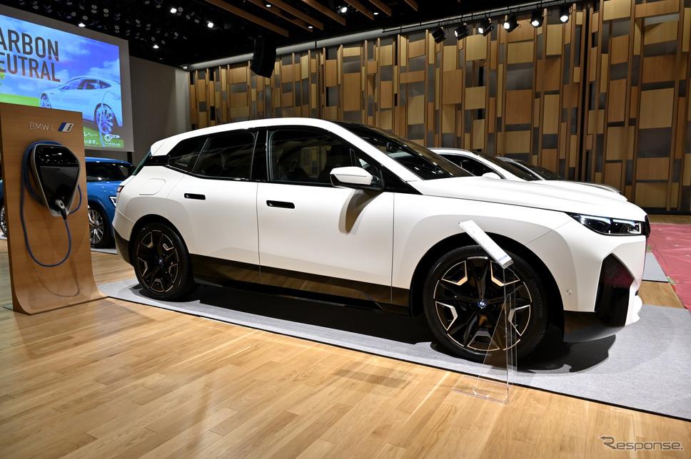 BMW iX《写真撮影 雪岡直樹》