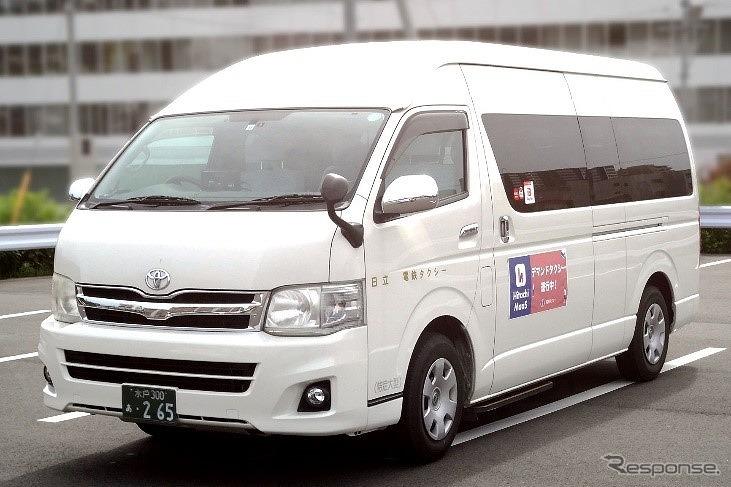 宮田・助川・成沢エリアを運行する車両《写真提供 みちのりホールディングス》