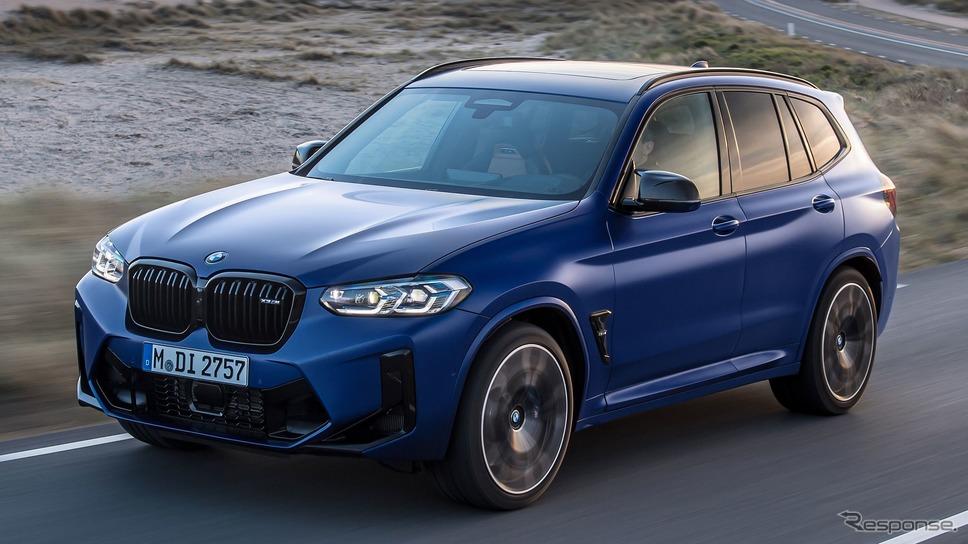BMW X3M コンペティション 改良新型《photo by BMW》